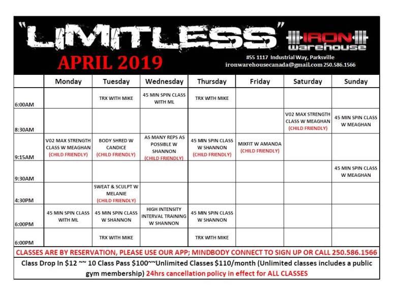 Limitless April