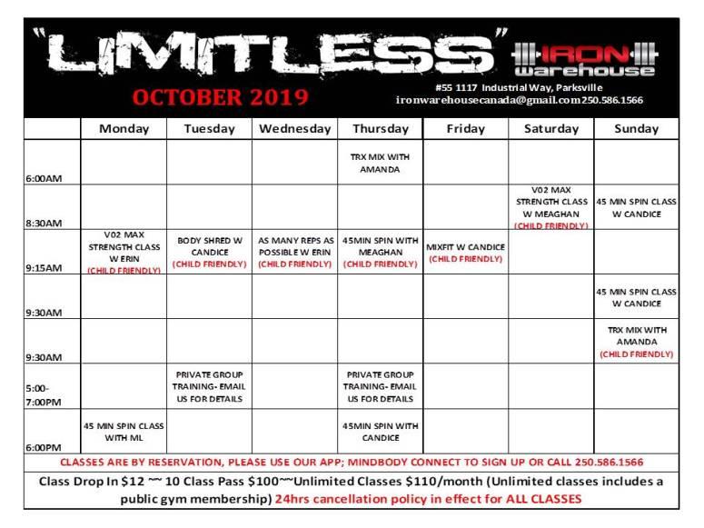 Oct Limitless